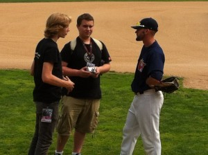 Ben and Zach meet Goldeyes